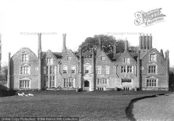 Photo of Woodbridge, Seckford Hall 1896