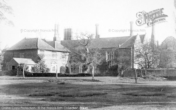 Photo of Woodbridge, Seckford Hall 1896