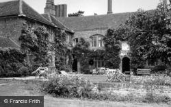 Seckford Hall 1950, Woodbridge