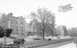Woodbridge, Seckford Hospital c.1965