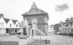 Shire Hall And Market Place c.1970, Woodbridge