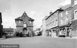 Shire Hall, Market Hill 1938, Woodbridge