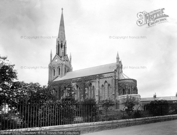 Photo of Woodbridge, St John's Church 1925