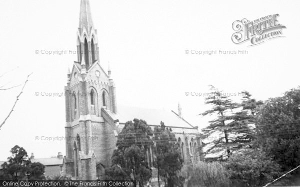 Photo of Woodbridge, St John's Church c.1965