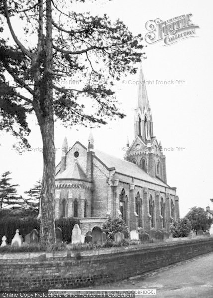 Photo of Woodbridge, St John's Church c.1965