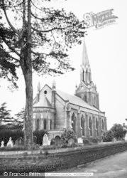 Woodbridge, St John's Church c.1965