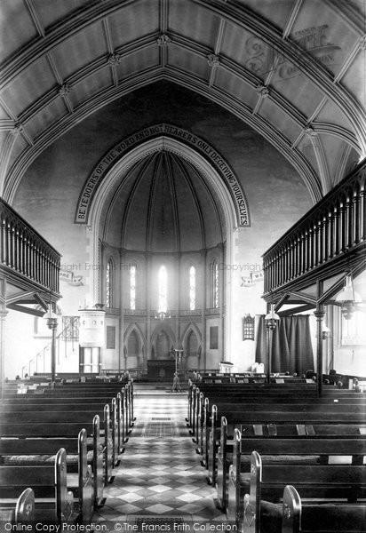 Photo of Woodbridge, St John's Church Interior 1896
