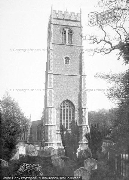 Photo of Woodbridge, St Mary's Church 1894