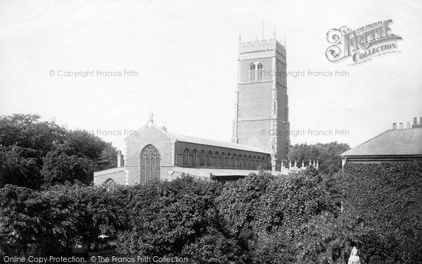 Photo of Woodbridge, St Mary's Church And Jubilee Monument 1894