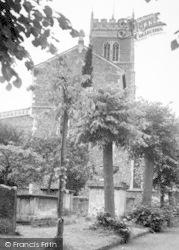 Woodbridge, St Mary's Church c.1955