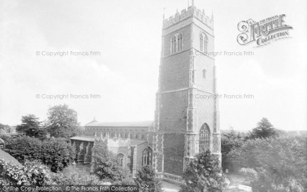 Photo of Woodbridge, St Mary's Parish Church 1925