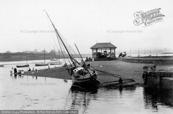 Photo of Woodbridge, The Beach 1898