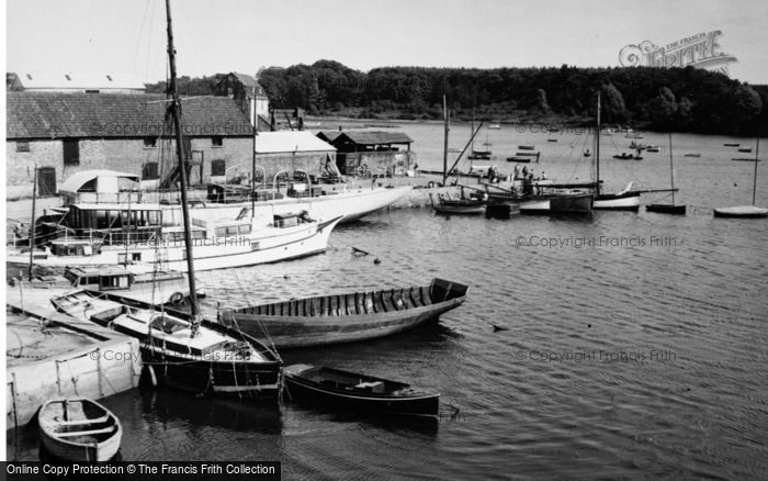 Photo of Woodbridge, The Harbour 1950