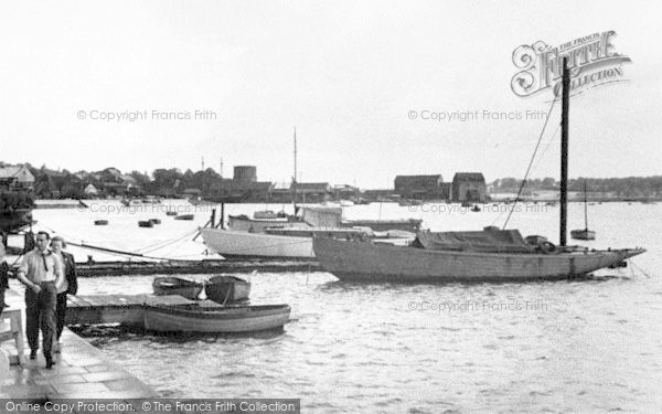 Photo of Woodbridge, The Harbour c.1950