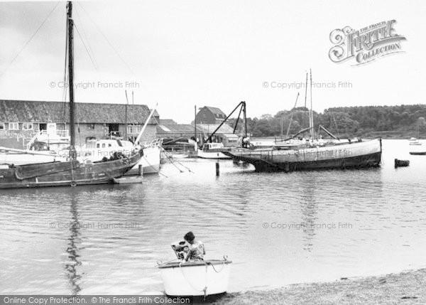 Photo of Woodbridge, The Harbour c.1965