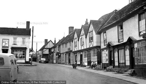 Photo of Woodbridge, The Market Place c.1955
