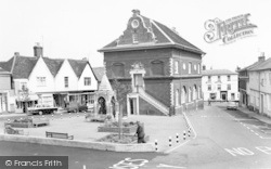 Woodbridge, The Market Place c.1970