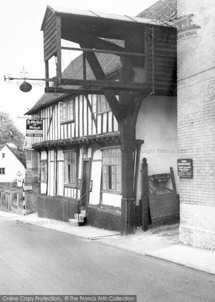 Photo of Woodbridge, The Old Bell And Steel Yard c.1965