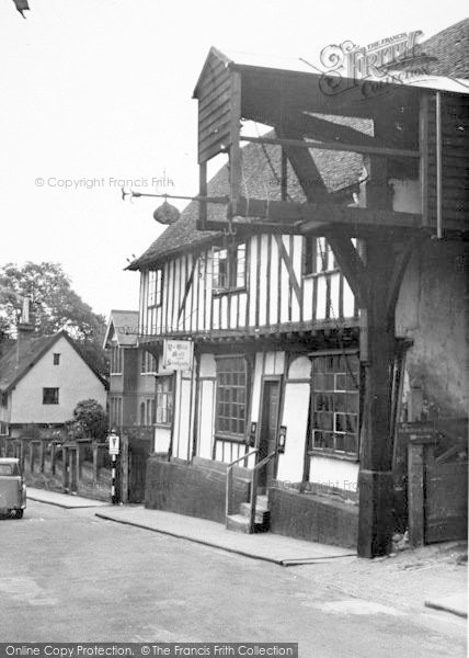 Photo of Woodbridge, The Old Bell And Steelyard c.1955