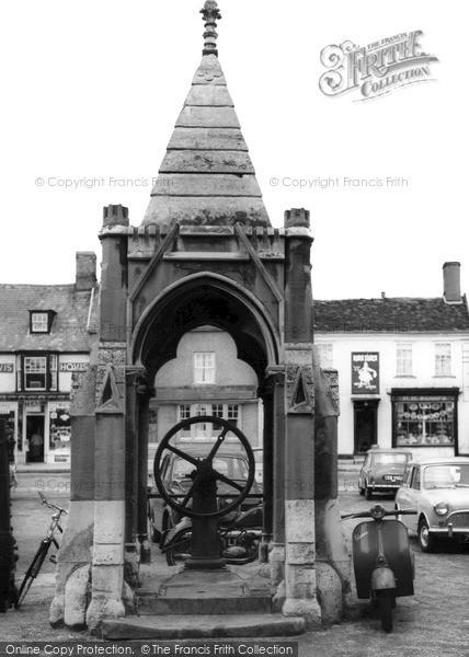 Photo of Woodbridge, The Old Pump c.1965