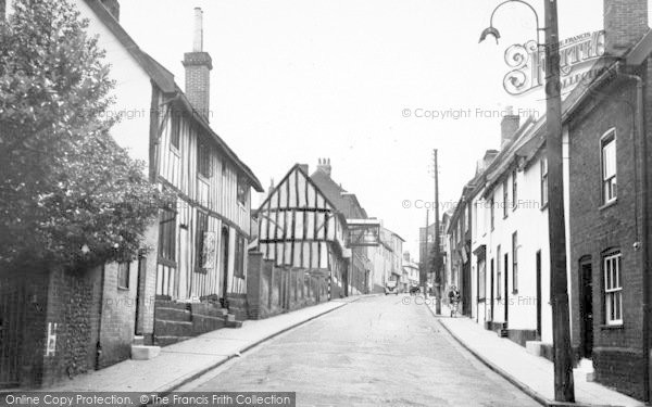 Photo of Woodbridge, The Old Town c.1955