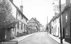 Woodbridge, The Old Town c.1955