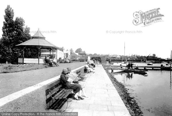 Photo of Woodbridge, The Promenade 1925