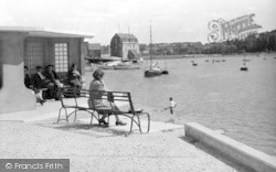Woodbridge, The Promenade c.1950