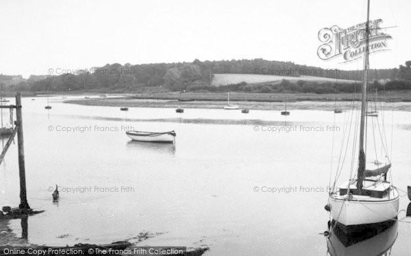 Photo of Woodbridge, The River c.1960