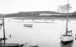 Woodbridge, The River c.1960
