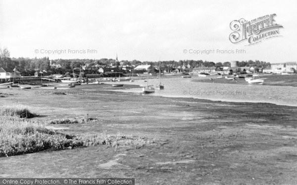Photo of Woodbridge, The River Deben c.1950