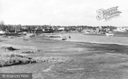 Woodbridge, The River Deben c.1950