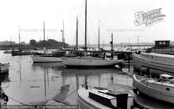 Photo of Woodbridge, The River Deben c.1965