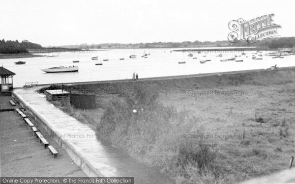 Photo of Woodbridge, The Riverside Walk, The River Deben c.1950