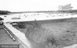 Woodbridge, The Riverside Walk, The River Deben c.1950