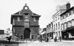 The Shire Hall 1908, Woodbridge