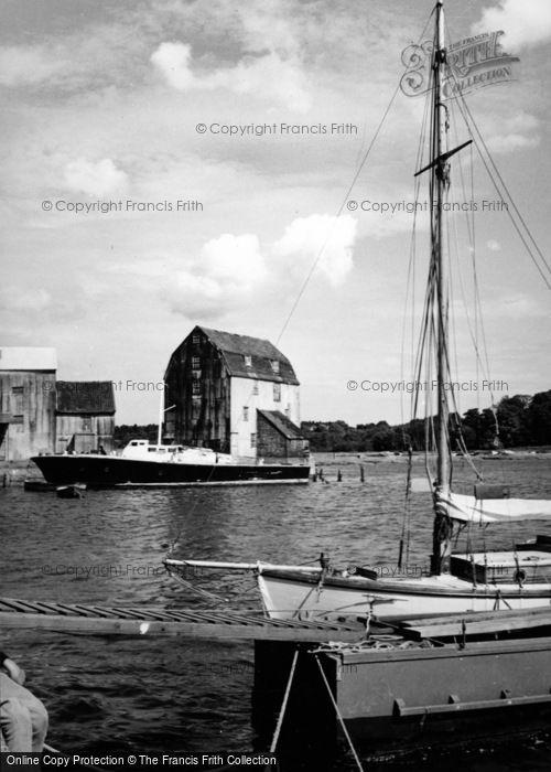 Photo of Woodbridge, The Tidal Mill 1950