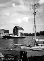 Woodbridge, The Tidal Mill 1950