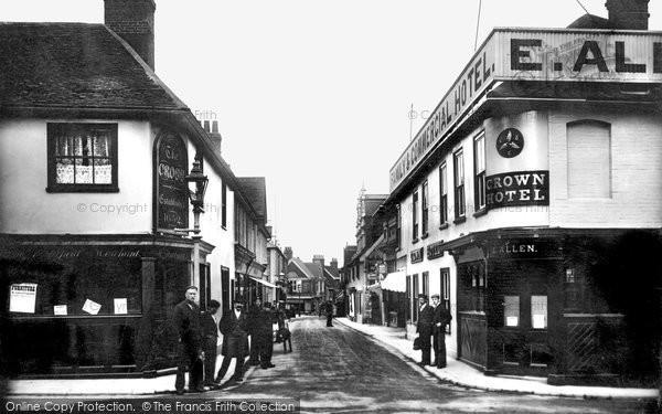 Photo of Woodbridge, Thoroughfare 1906