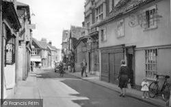 Woodbridge, Thoroughfare c.1950