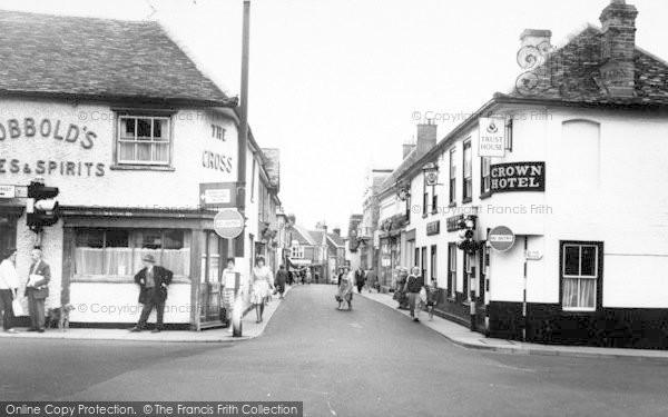 Photo of Woodbridge, Thoroughfare c.1960