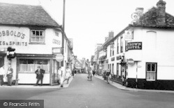 Woodbridge, Thoroughfare c.1960