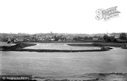 Woodbridge, Tide Mill Pond And View From Sutton Shore 1894