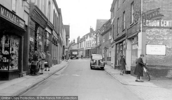 Photo of Woodbridge, Town c.1950
