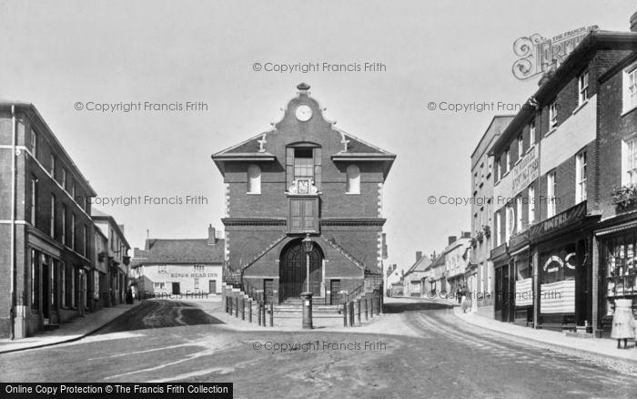 Photo of Woodbridge, Town Hall 1898