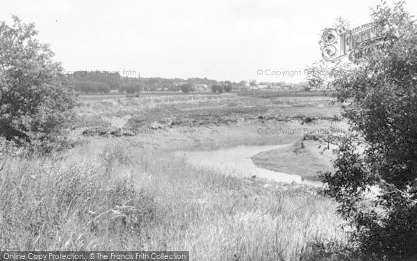 Photo of Woodbridge, View From Kyson's Point c.1955