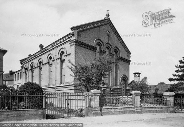Photo of Woodbridge, Wesleyan Chapel 1896
