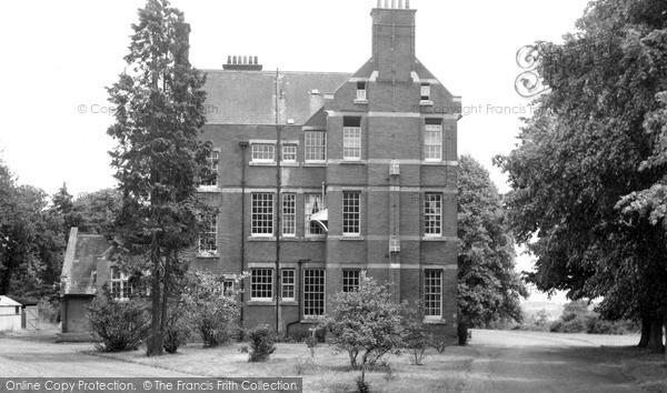 Photo of Woodbridge, Woodbridge School c.1955