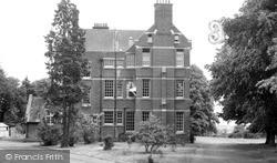 Woodbridge School c.1955, Woodbridge