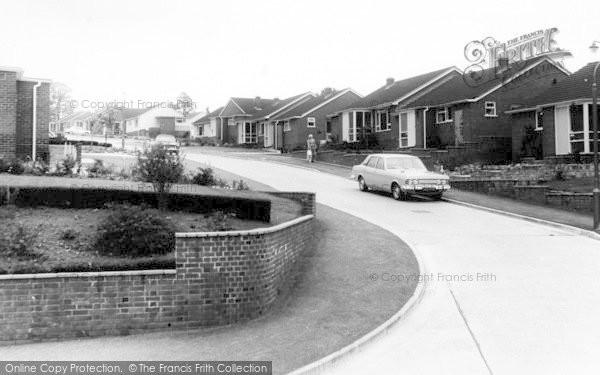 Photo of Woodbury, Long Park Road c.1965